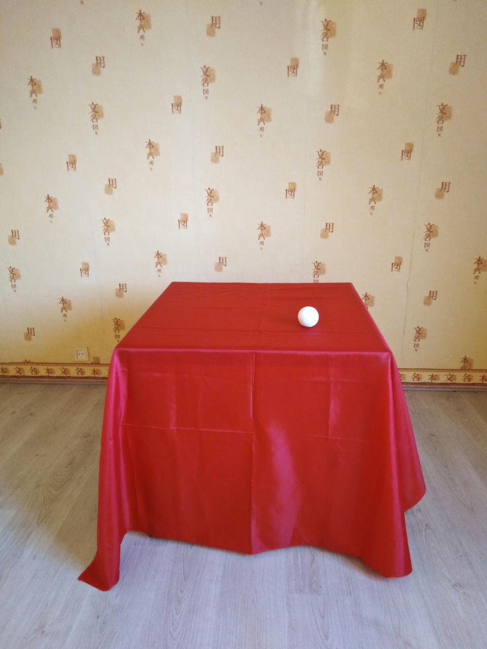 on dirait - table rouge