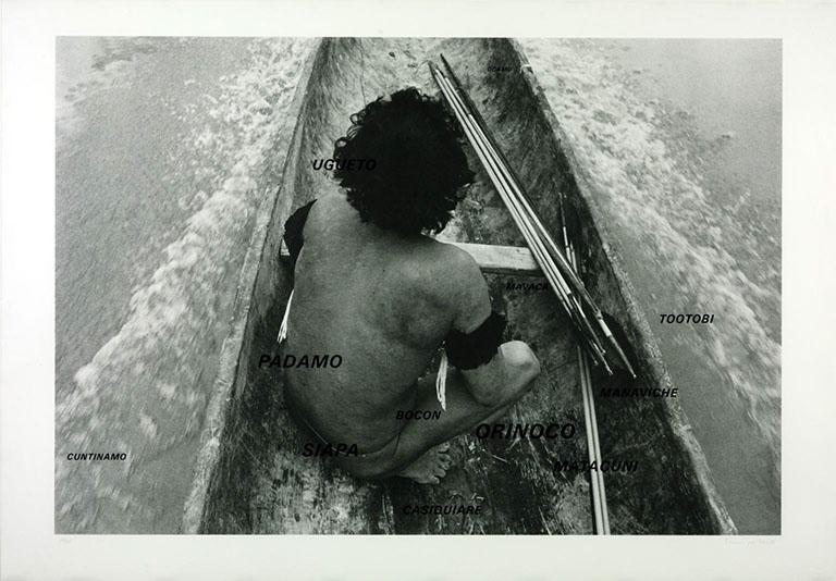 Shaiprabow? 1985 by Lothar Baumgarten born 1944