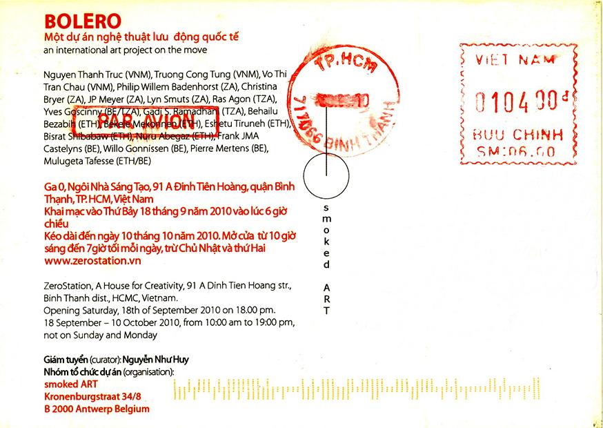 2.VIETNAM kaart verso